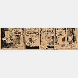Walt Kelly (American, 1913-1973)      Pogo Comic Strip, 7-24 (1969)