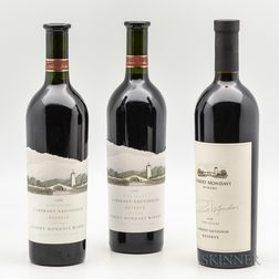Robert Mondavi Cabernet Sauvignon Reserve, 3 bottles