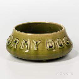 Hampshire Pottery Dog Dish