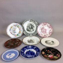 Nine Wedgwood Plates