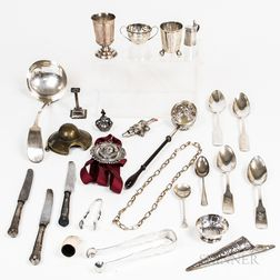 Group of Continental Silver Items