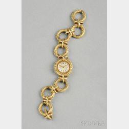 14kt Gold Wristwatch, Bulova
