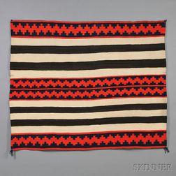 Navajo Late Classic Wearing Blanket