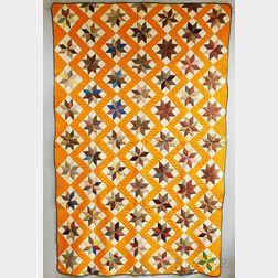 Calico Star Patchwork Quilt