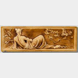 American Encaustic Tile Co. Figural Pottery Tile
