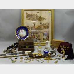 Group of 19th and 20th Century Masonic and Fraternal Related Items