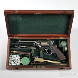 Cased Tranter Fourth Model Revolver