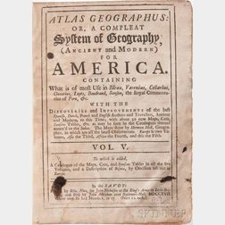 Atlas Geographus: or a Compleat System of Geography (Ancient and Modern) for America.