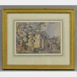 Edward Darley Boit (American, 1840-1915)      Villa, San Remo
