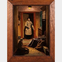 Violet Nellie Garrod (British, 1898-1982)    September Nights, 1940