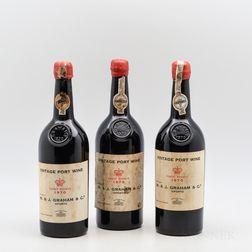 Grahams 1970, 3 bottles