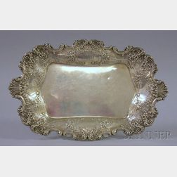 Thomas S. Starr Sterling Silver Rectangular Tray