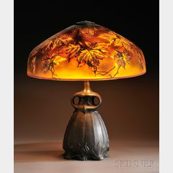Pittsburg Autumn Leaves Table Lamp