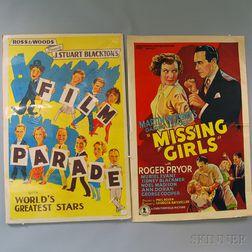 Four U.S. Entertainment Posters