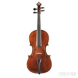 Modern Italian Violin, Ascribed to Benvenuto Botturi