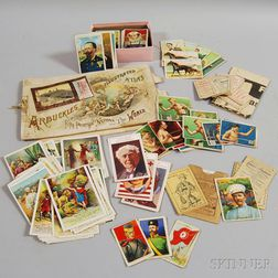 Collection of Mostly Cigarette Cards