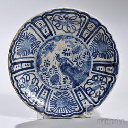 Tin-glazed Earthenware Wanli Dish