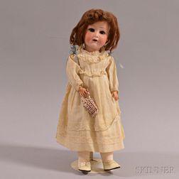 Heubach Koppelsdorf Bisque Head Doll