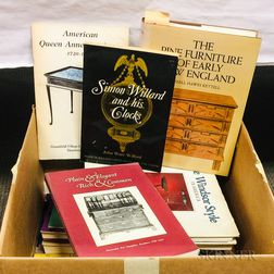 Small Group of Books on American Furniture