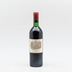 Chateau Lafite Rothschild 1975, 1 bottle