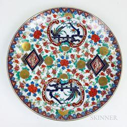 Modern Imari Porcelain Charger