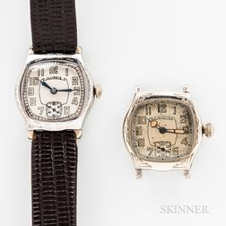 """Two Illinois Watch Co. """"Speedway"""" Wristwatches"""