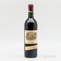 Chateau Lafite Rothschild 1989, 1 bottle
