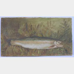 American School, 19th Century      Brown Trout.