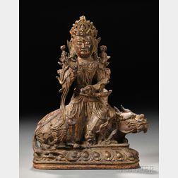 Bronze Buddhist Figure