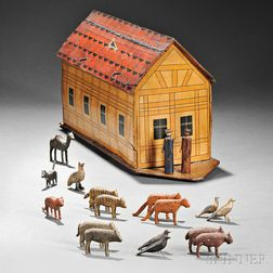 Painted Noah's Ark