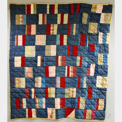 Two Calico Patchwork Quilts