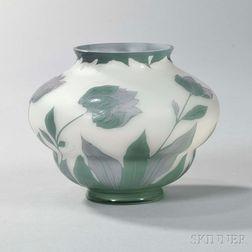 Loetz-type Cameo Vase