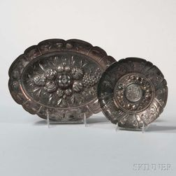 Two Continental Silver Bowls