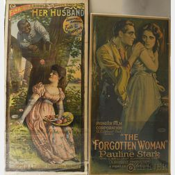 Two Antique Theatrical Posters