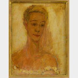 Vladimir Lebedev (Russian/American, 1910-1991)      Portrait Head