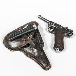 P.08 S/42 Luger Semi-automatic Pistol