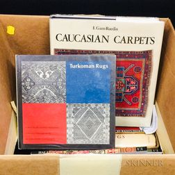 Small Group of Books on Rugs and Textiles
