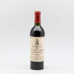 Chateau Latour 1953, 1 bottle