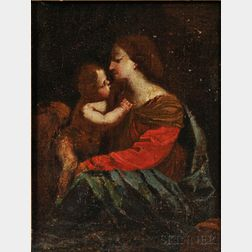 Italian School, 16th Century Style    Mother and Child (Madonna and Child)