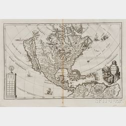 North and Central America. Heinrich Scherer (1628-1704) America Borealis
