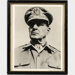 MacArthur, General Douglas A. (1880-1964) Signed Photograph.