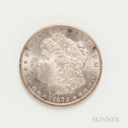 1879-CC Morgan Dollar, PCGS MS63.     Estimate $2,000-3,000