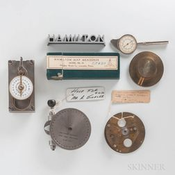 Hamilton Watch Co. Factory Tooling and Tools