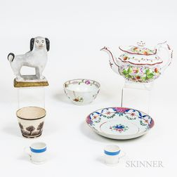Seven 19th Century Decorative Items