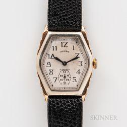 """Illinois Watch Co. """"Ritz"""" Wristwatch"""