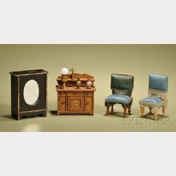 Group of Miniature Furniture and Accessories