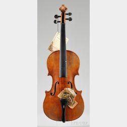 Markneukirchen Violin, Karl Herrmann, c. 1930