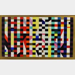 Yaacov Agam (Israeli, b. 1928)      Untitled Geometric Print.