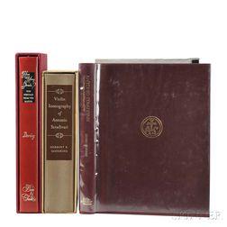 Three Books on Antonio Stradivari