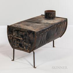 Shaker Tin Stove